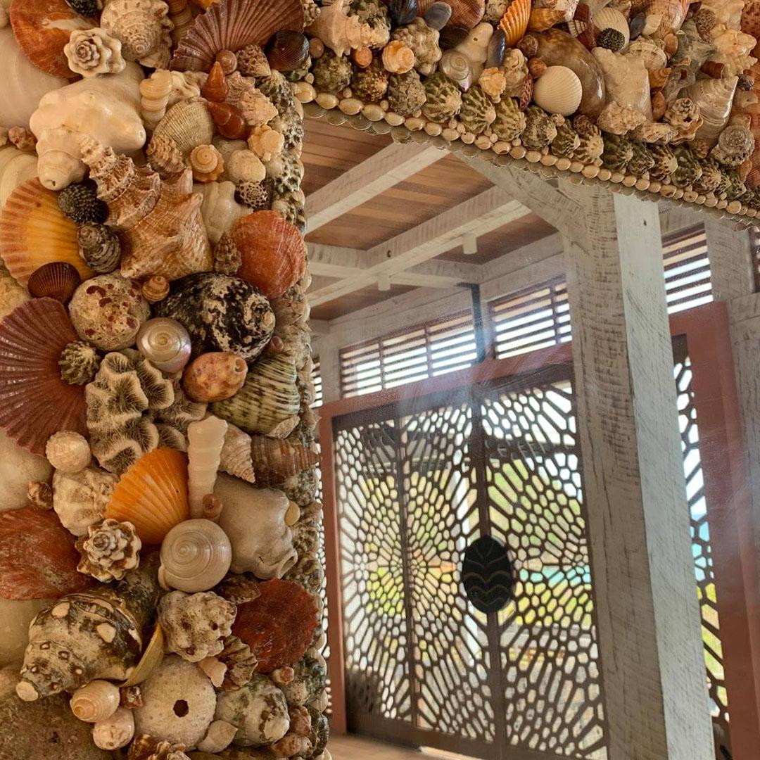 Exklusiv inredning på Tribu Beach Club