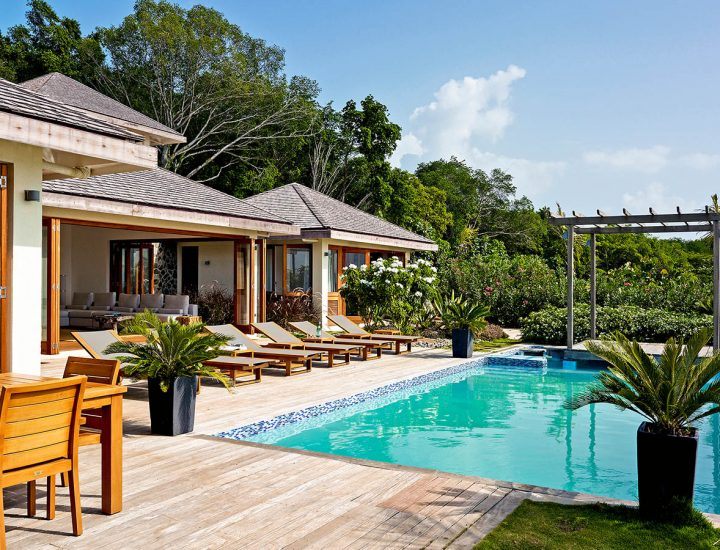 Tribu Beach Club har flera ljuvliga pooler