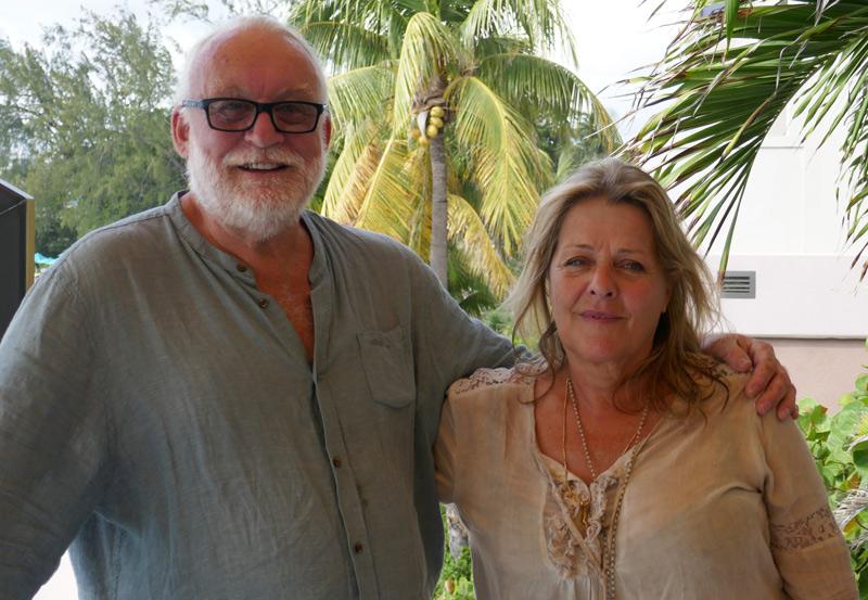 Lars & Margit på Bequia i Västindien