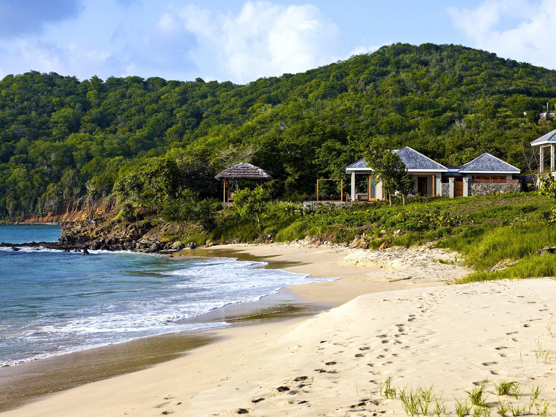 Tribu Beach Club från stranden